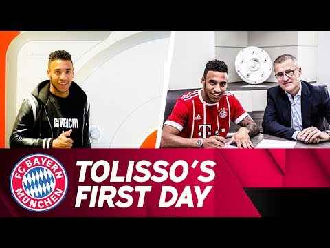 Corentin Tolisso's First Day at FC Bayern! ✅