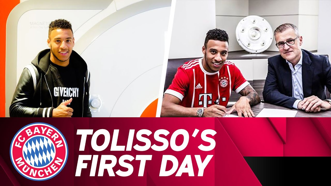 Download Corentin Tolisso's First Day at FC Bayern! ✅