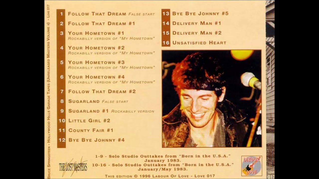 Download Bruce Springsteen   Your Hometown #1 rockabilly version of My Hometown
