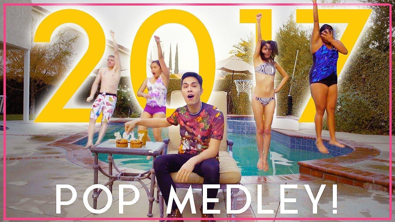 2017 Pop Medley Reverse One Take Sam Tsui Khs