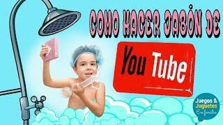 COMO HACER JABÓN CASERO // JABONES NATURALES DE GLICERINA // Juegos y juguetes en familia