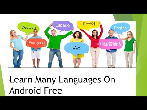 Learn many languages on your Android For Free Urdu/Hindi