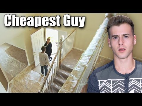 Thumbnail: Cheapest Guy Ever (Shrink Wrapped His Whole House)