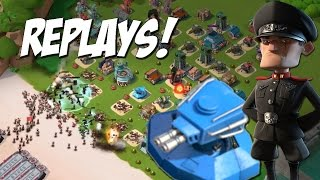 Shock Blaster III Replays! | Hammerman Too Easy | Boom Beach
