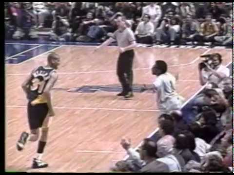 fa0d305d5d398 1998 - Reggie Miller Spike Lee Pacers-Knicks Rivalry - YouTube