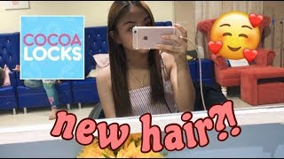 HOW TO KEEP YOUR HAIR HEALTHY!! FT. COCOA LOCKS | Just Bia