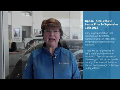 Cowell Volkswagen TDI Concierge Service - Option 3 For Canadian Settlements