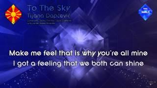 "Tijana Dapčević - ""To The Sky"" (F.Y.R. Macedonia) - [Karaoke version]"