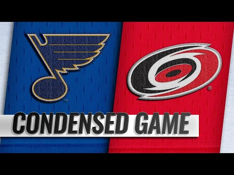 03/01/19 Condensed Game: Blues @ Hurricanes
