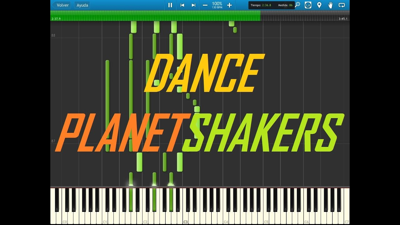 dance planetshakers tutorial synthesia
