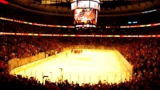 Blackhawks United Center- Game 3 OT Winner Versus Sharks at United Center
