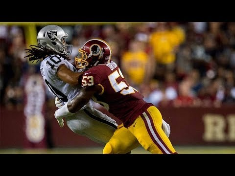 Washington Redskins Defensive Highlights vs Oakland || Week 3 Mix ᴴᴰ