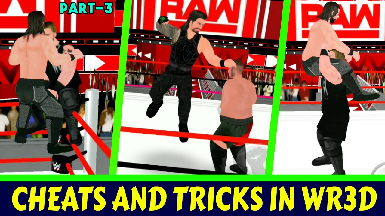 Cheats And Tricks In WR3D/Wrestling Revolution 3D Game Part