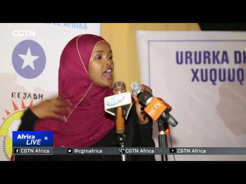 Somali youth awarded for her fight against use of children i