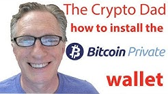 How to Install the Bitcoin Private Wallet