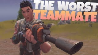 I am the WORST TEAMMATE! - Random Duos - PS4 Fortnite Duos Gameplay