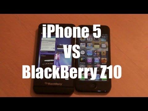 iphone 5 vs z10