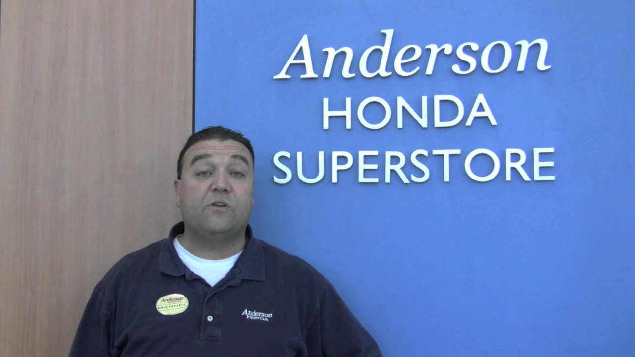 Anderson Honda Palo Alto CA Manuel Souza Introduction