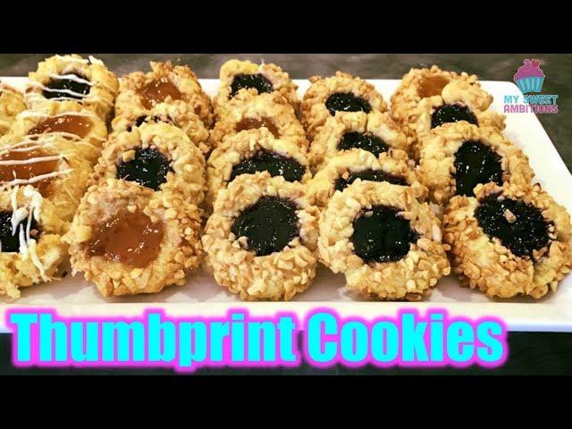 Thumbprint Cookies - mysweetambitions
