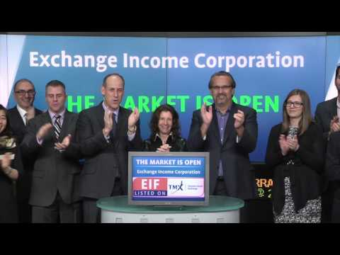 Exchange Income Corporation (TSX:EIF) opens Toronto Stock Exchange, January 14, 2016