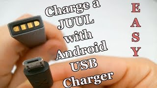 How to Charge a Juul Without a Charger (Using an Android Charger)