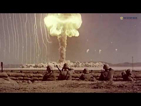 Operation Desert Rock Nuclear testing 1950s
