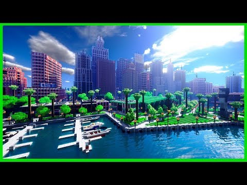 Minecraft- Building a COOL City
