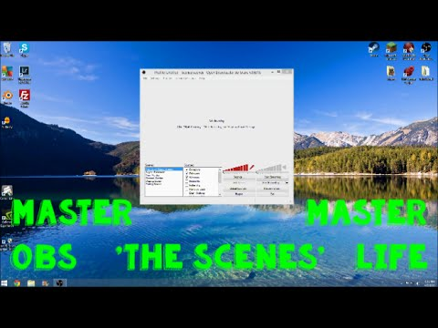 obs how to make a scene