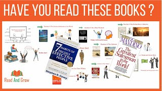 10 Books For Success | Best Books For Success | Must Read Books | Animated