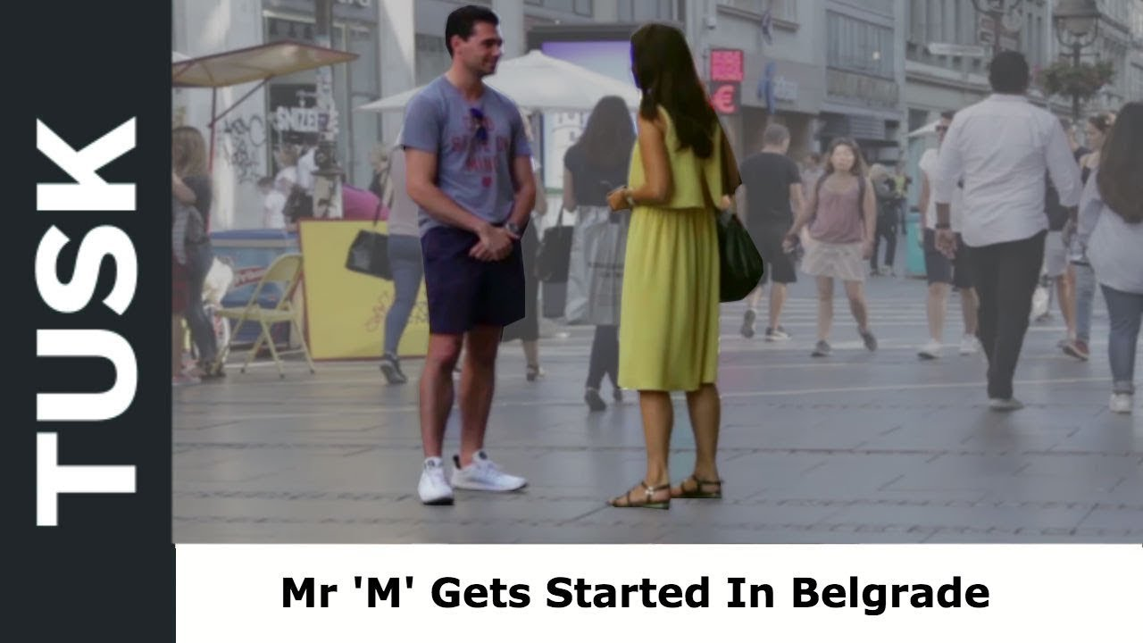 Mr M's Long Weekend In Belgrade, Serbia: Getting Started & His First Approaches (Part 1)