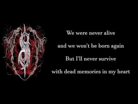 SLIPKNOT - Dead Memories [lyrics]
