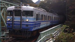 【鉄道撮影記】115系N34編成  谷川岳紅葉号