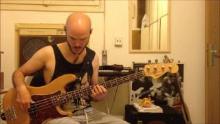 sting -  i was brought to my senses - bass cover + tutorial