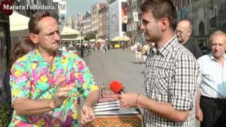 Wojciech Cejrowski - wywiad o edukacji MaturaToBzdura