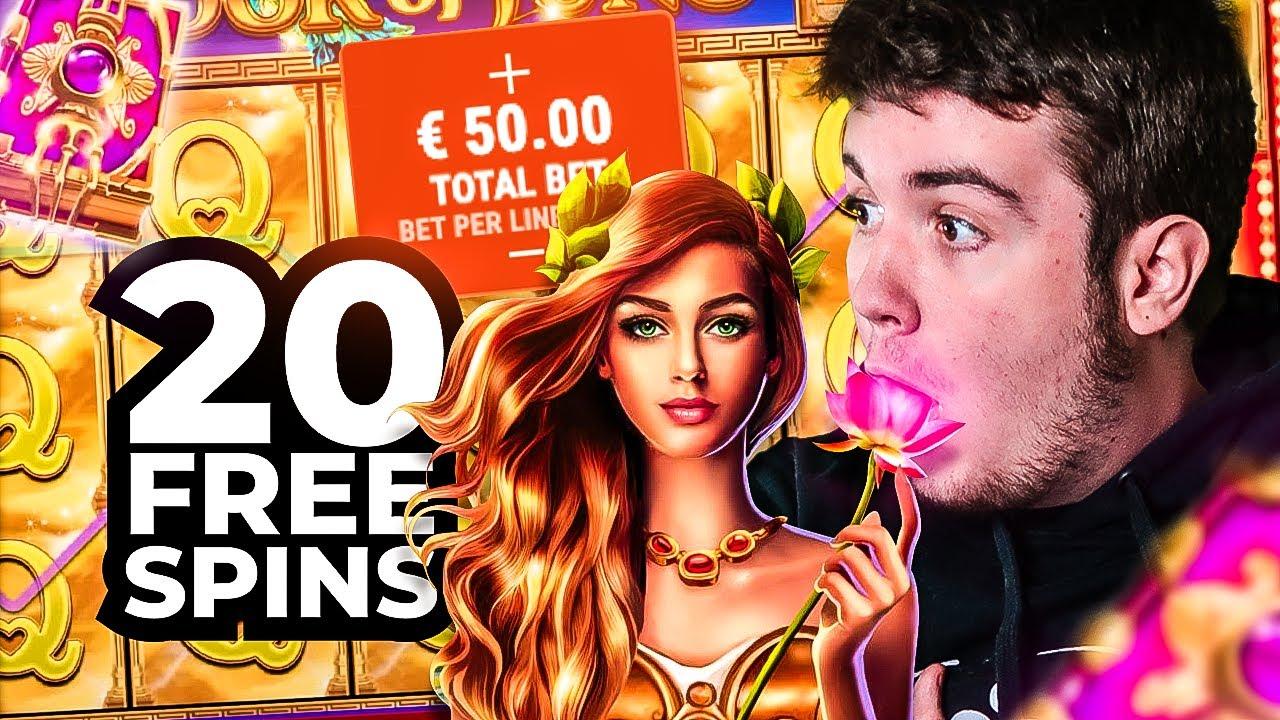 🤯 20 FREE SPINS à 50€ sur une SLOT Gamomat (et ça paye !) (BEST OF BIDULE)
