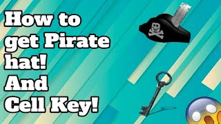 Roblox | How to get cell key and the pirate hat | Scuba Diving