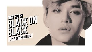 Baixar NCT 2018 - Black on Black Line Distribution (Color Coded) | 엔시티 2018  - 블온블