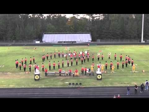 Monacan High School @ County Band Night 2015
