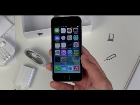 Apple iPhone 5s einrichten und erster Eindruck