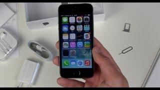Apple iPhone 5s einrichten und erster Eindruck(, 2013-09-30T17:59:40.000Z)