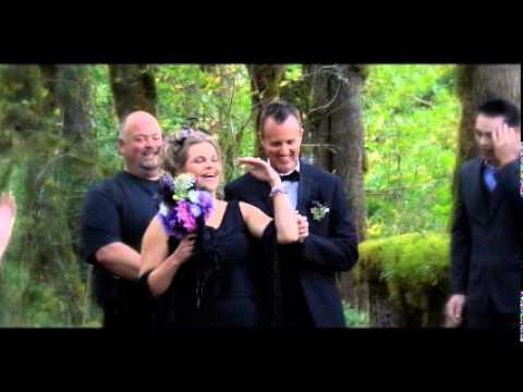 Twilight Style Wedding in Forks, Washington