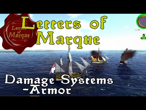 "Letters of Marque (Pre-Alpha) - Damage Systems ""Armor"""