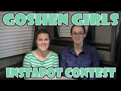Goshen Girls InstaPot (Instant Pot) Favorite Recipe Contest