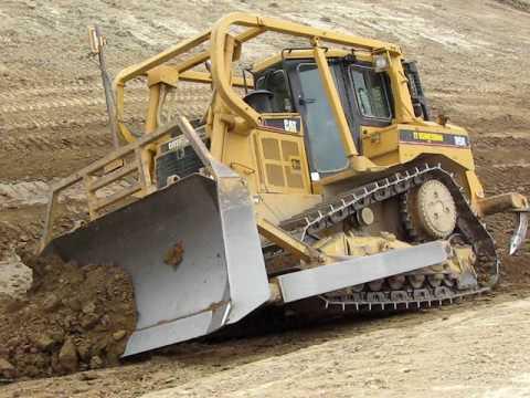Steep Bulldozer Work Youtube