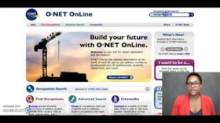 How to Use O*net  - Career Success