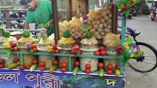 Indian Special Masala food Papri Chaat & Jhalmuri | Food Lover's BM
