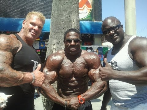Rich Piana Interviews Kali Muscle
