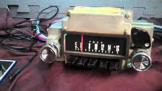 1967 Ford Fairlane AM Radio