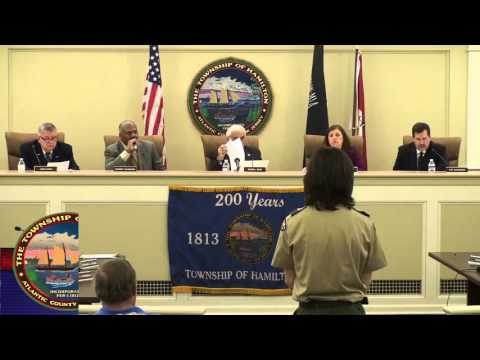 April 4, 2016 - Township of Hamilton Committee Meeting