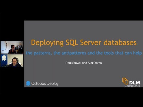Deploying SQL Server databases using Octopus Deploy